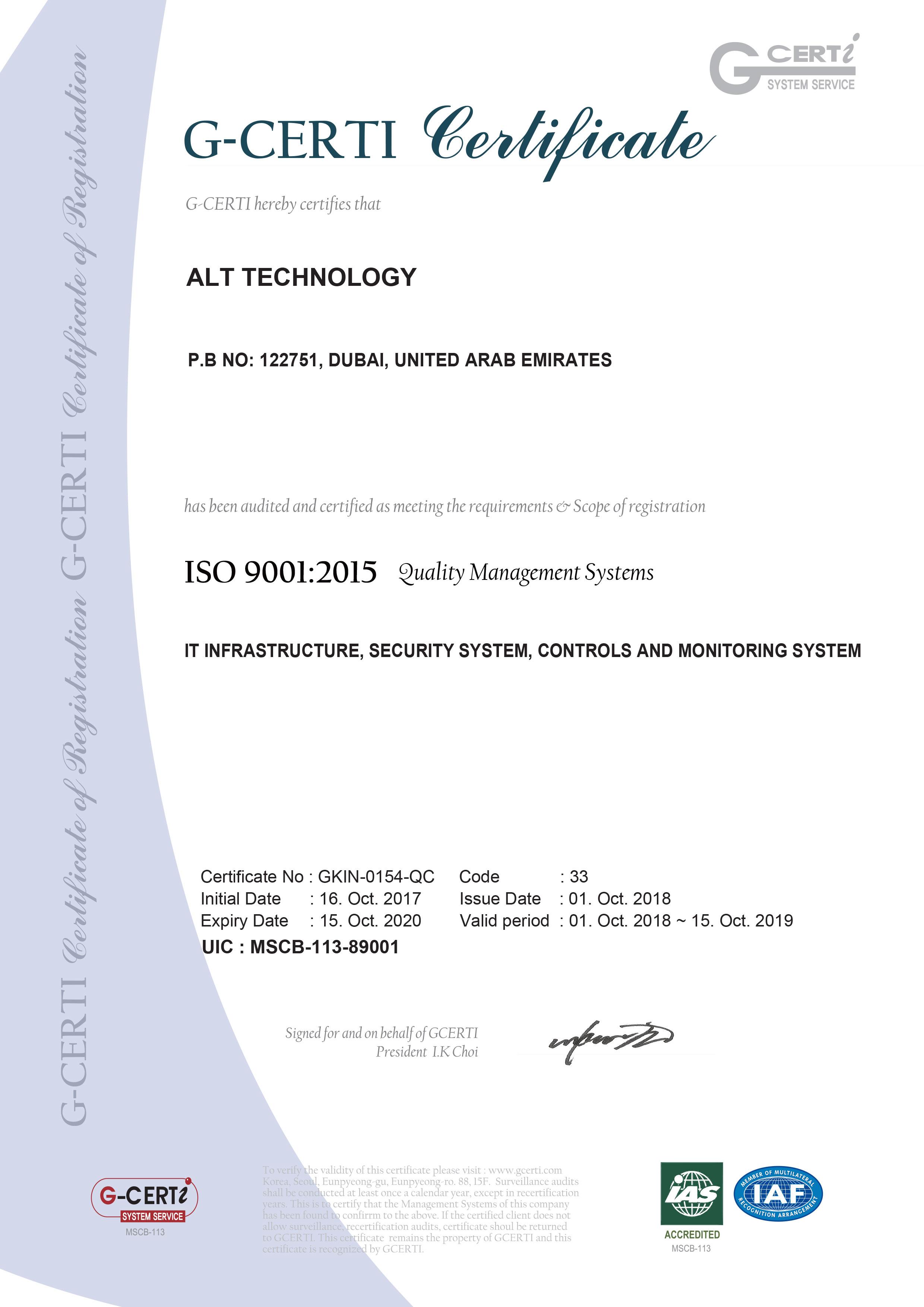ALT Technology